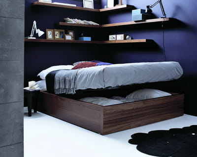 lit avec coffre int gr de boconcept 10 lits gain de place journal des femmes. Black Bedroom Furniture Sets. Home Design Ideas