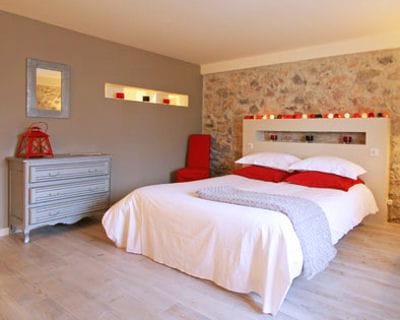 Une t te de lit for Ou mettre son lit dans une chambre