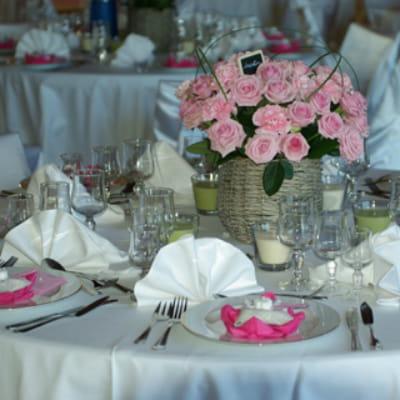 Vos plus belles décorations de mariage Déco de mariage romantique ...