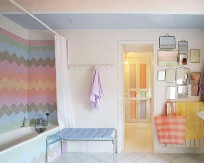 les couleurs pastel une touche de f minit dans votre int rieur journal des femmes. Black Bedroom Furniture Sets. Home Design Ideas