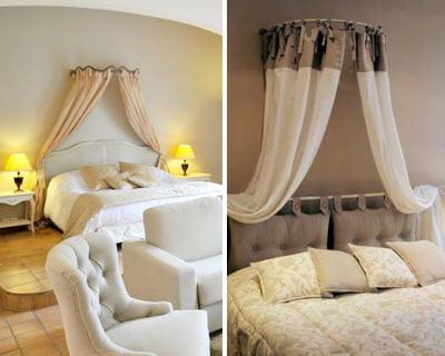 le ciel de lit romantique une touche de f minit dans votre int rieur journal des femmes. Black Bedroom Furniture Sets. Home Design Ideas