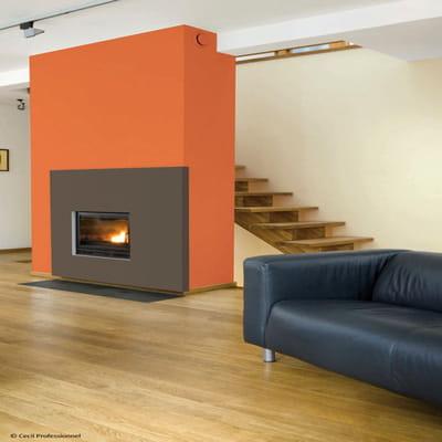 peinture pour bois teinte potimarron de cecil. Black Bedroom Furniture Sets. Home Design Ideas