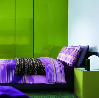 Chambre Vert Pomme Et Orange ~ Idées de Design Maison et Idées de ...