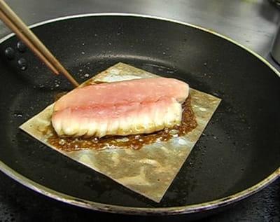 le poisson ne doit pas être salé ni poivré.