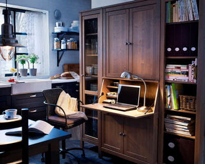 El ment de secr taire hemnes d 39 ikea for Ikea bureau secretaire