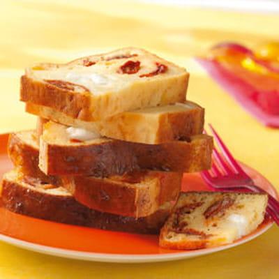 Cake Tomates Sechees Mozzarella Journal Femmes