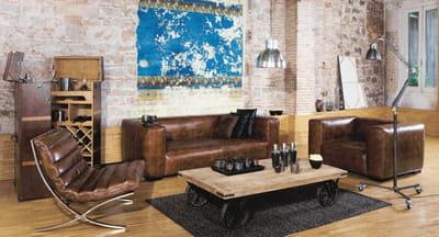 canap john de maisons du monde. Black Bedroom Furniture Sets. Home Design Ideas
