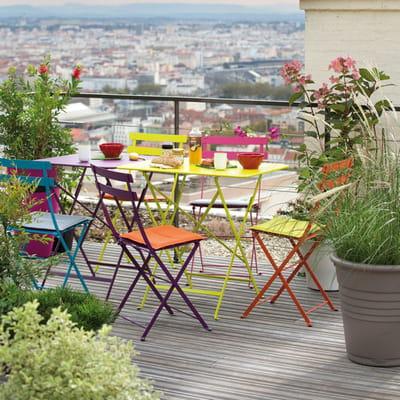 Mobilier De Jardin Bistro De Fermob Chez Botanic Salon
