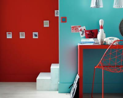 peinture attitude de ripolin chez leroy merlin couleur. Black Bedroom Furniture Sets. Home Design Ideas