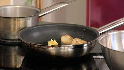 cuisson des noix de saint-jacques