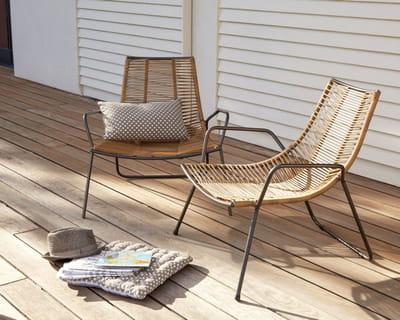 fauteuil zeta d 39 alinea salon de jardin 40 nouveaut s outdoor journal des femmes. Black Bedroom Furniture Sets. Home Design Ideas