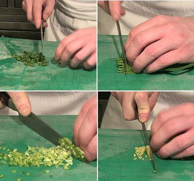 préparer le mélange d'herbes parfumées