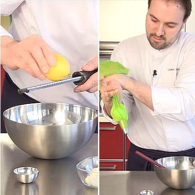 préparer la crème de raifort et wasabi