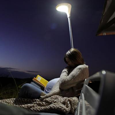 luminaire feet plug de leroy merlin plein feu sur les luminaires pour le jardin journal des. Black Bedroom Furniture Sets. Home Design Ideas