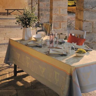 Nappe fl nerie ond e de garnier thiebaut tables d co pour d jeuners ensolei - Nappe garnier thiebaut ...
