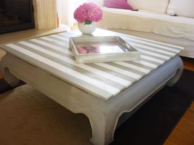 Relooker un meuble en bois journal des femmes - Decorer un meuble en bois ...