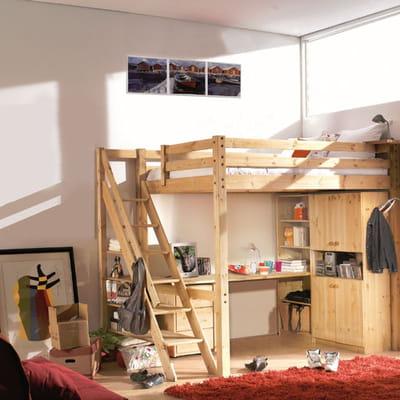 mezzanine loft de cocktail scandinave lit mezzanine notre s lection gain de place journal. Black Bedroom Furniture Sets. Home Design Ideas