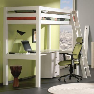 lit compact studio de cocktail scandinave lit mezzanine notre s lection gain de place. Black Bedroom Furniture Sets. Home Design Ideas