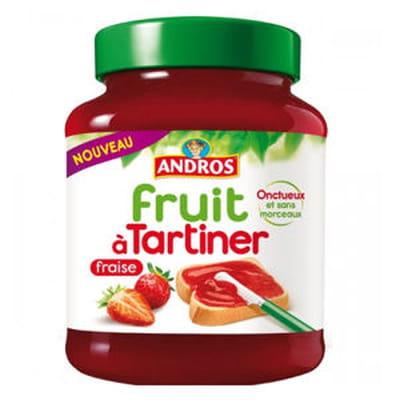 fruit à tartiner à la fraise