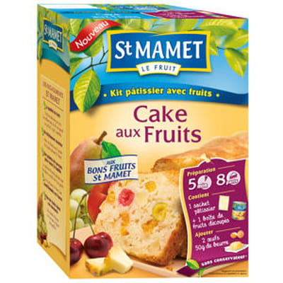 kits pâtissiers aux fruits