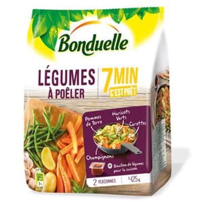 légumes à poêler de bonduelle
