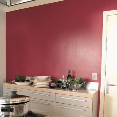 Peinture prestige premium de tollens du sol aux murs une cuisine comme neuve journal des femmes for Peinture cuisine tollens