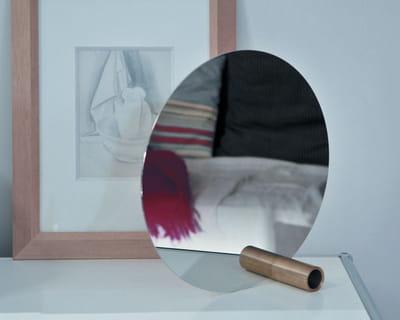 Miroir design des miroirs qui en mettent plein les for Disque en miroir