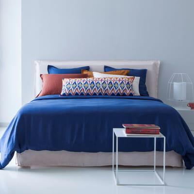 linge de lit en lin d 39 am pm du linge de lit pigment pour pimenter vos nuits journal des femmes. Black Bedroom Furniture Sets. Home Design Ideas
