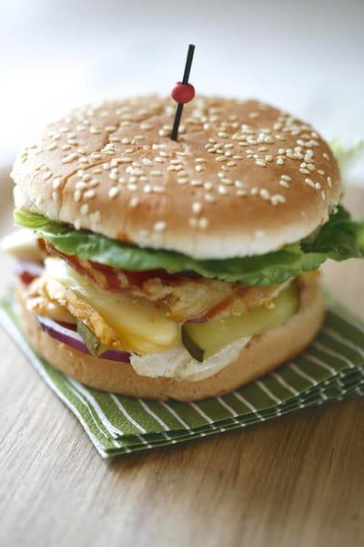 le burger, un produit gastronomique
