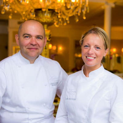 claire heitzler et christophe moret, le tandem gagnant du restaurant lasserre.