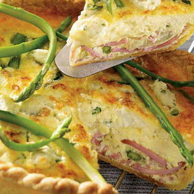 quiche au jambon asperges et fromage frais 50 recettes. Black Bedroom Furniture Sets. Home Design Ideas