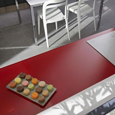 Plan de travail en verre mat choisir le bon plan de for Plan de travail en verre