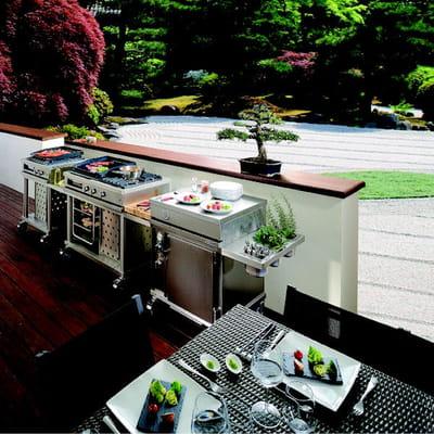 au jardin la cuisine barbecues planchas et braseros pour cuisiner au jardin journal des. Black Bedroom Furniture Sets. Home Design Ideas