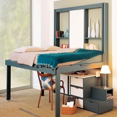 du bureau la chambre. Black Bedroom Furniture Sets. Home Design Ideas