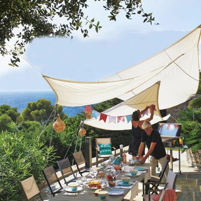 un coin d 39 ombre sur la terrasse un p 39 tit coin d 39 ombre. Black Bedroom Furniture Sets. Home Design Ideas