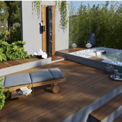 terrasse en bambou leroy merlin. Black Bedroom Furniture Sets. Home Design Ideas