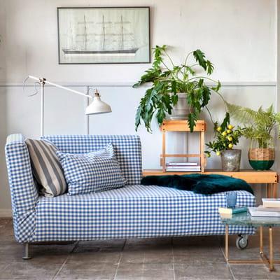 R tro la m ridienne je customise mes meubles ikea - Housse pour meridienne ...