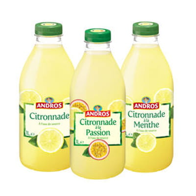 citronnade d'andros