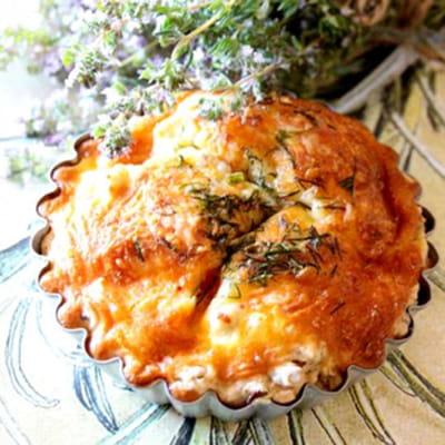 Petites tartelettes au thon ch vre frais et aneth - Cuisiner du thon en boite ...