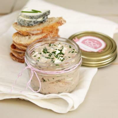Rillettes de sainte maure de tourraine au thon - Cuisiner du thon en boite ...