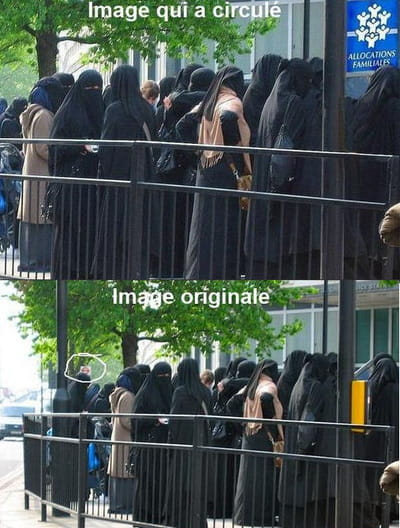 niqab photo faux