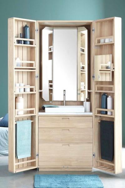 Meuble la cabine par line art la fonction le bon for Fonction meuble
