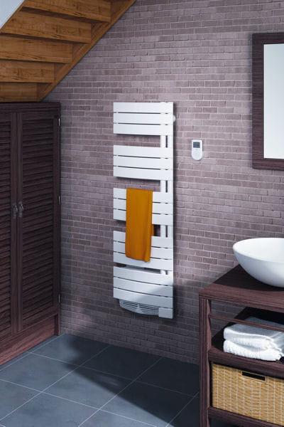 radiateur s che serviettes sauter le bon mobilier pour une petite salle de bains journal des. Black Bedroom Furniture Sets. Home Design Ideas