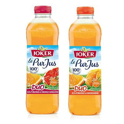 pur jus duo orange-mandarine de joker