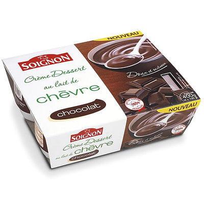 cr 232 me dessert chocolat au lait de ch 232 vre de soignon coup de coeur gourmand de la semaine