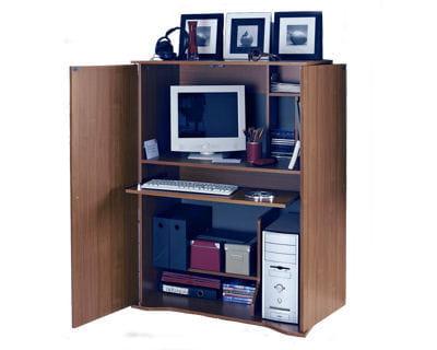 Tendance compacte 10 bureaux dans tous les styles - Bureau dans armoire ...