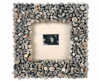 Cadre de bois flott 20 accessoires pour la chambre for Cadre photo bois flotte