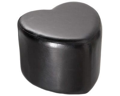 un pouf en coeur quoi de neuf chez alin a journal des femmes. Black Bedroom Furniture Sets. Home Design Ideas