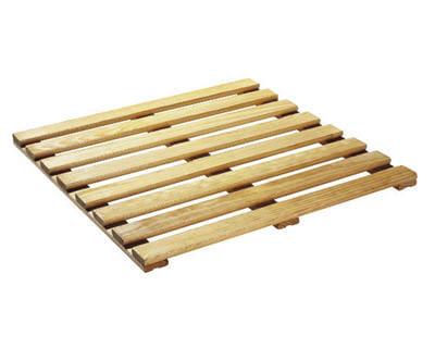 Place au bois 5 objets pour une salle de bains nature journal des femmes - Bois medium castorama ...