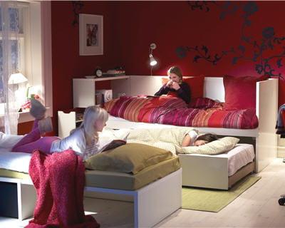 une chambre optimis e 5 id es d 39 am nagement de l 39 espace journal des femmes. Black Bedroom Furniture Sets. Home Design Ideas